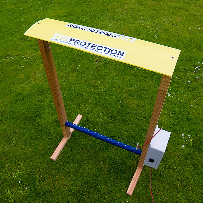 Harpe électrique anti-frelons en kit - Apiprotection.